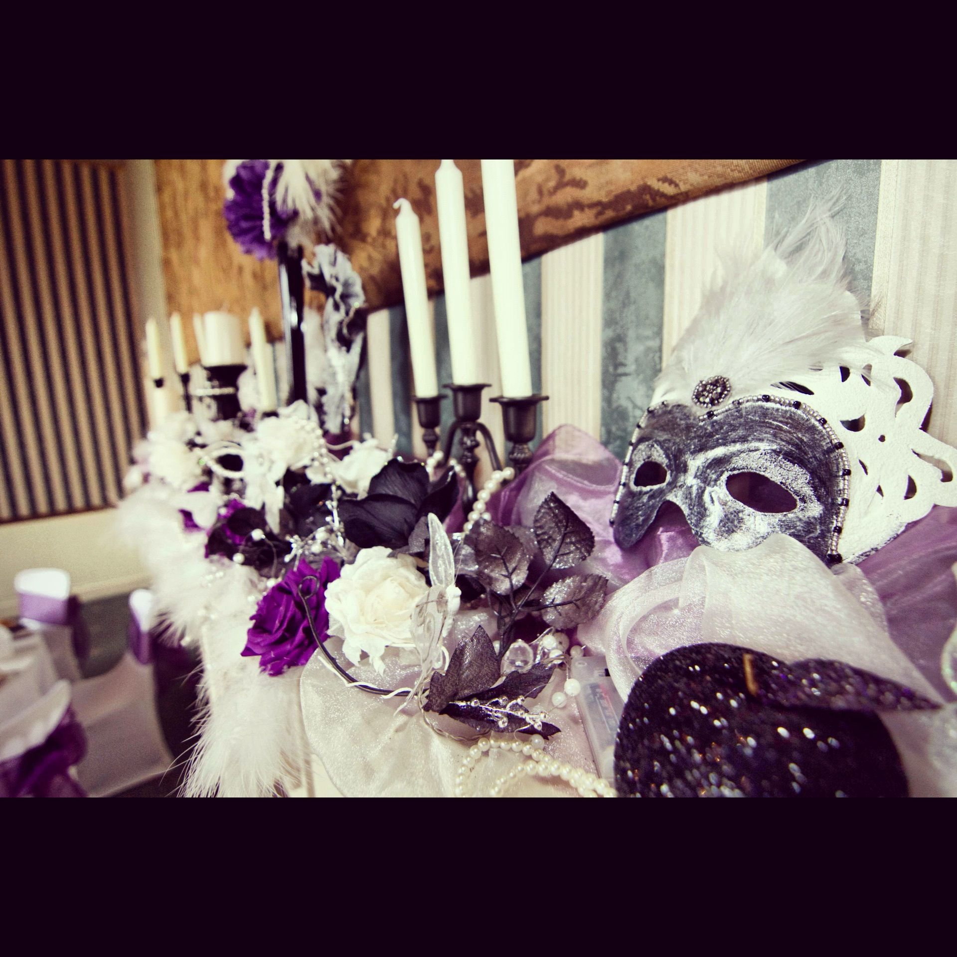 Masquerade Ball Wedding Ideas: Masquerade Wedding Decorations