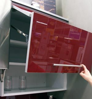 Look A Chianti Colored Kitchen At Home Depot Kitchen Cabinets