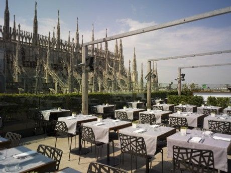 La #Rinascente Restaurant - Spectacular views of the #Duomo | Food ...
