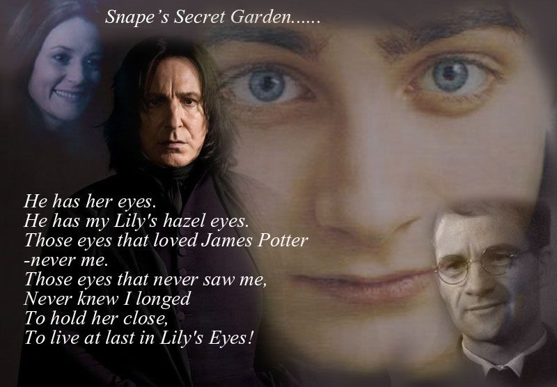 """JK Rowling must be a """"Secret Garden"""" fan. :)"""
