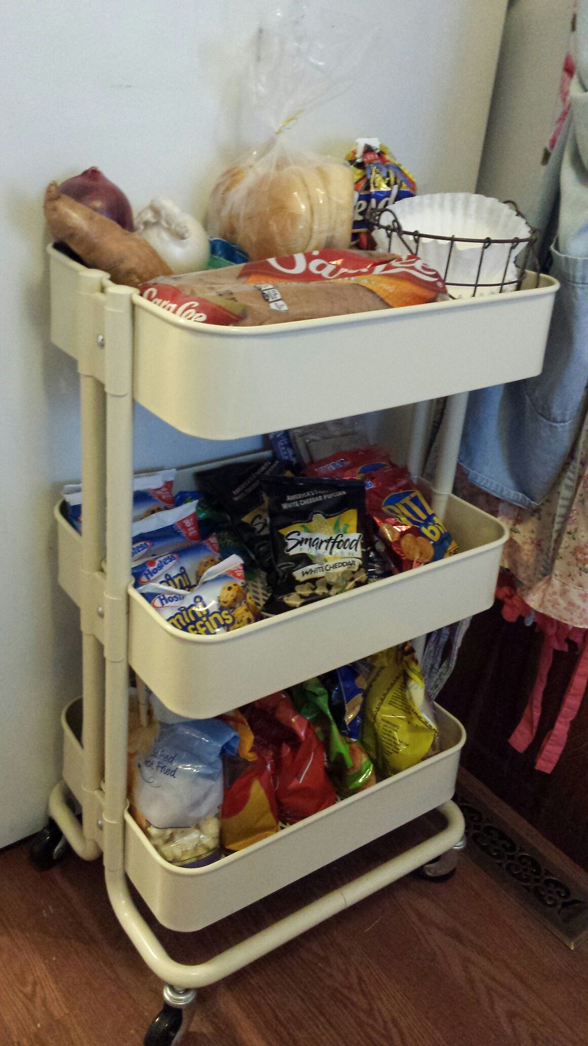 Ikea Snack my ikea snack cart | ~~our home~~ | pinterest | organizing