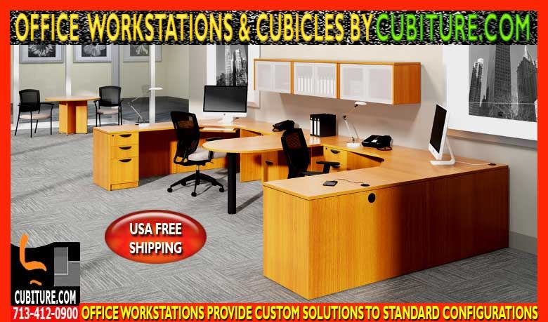 Excellent Custom Office Workstations Cubicles Sales Installation Download Free Architecture Designs Sospemadebymaigaardcom