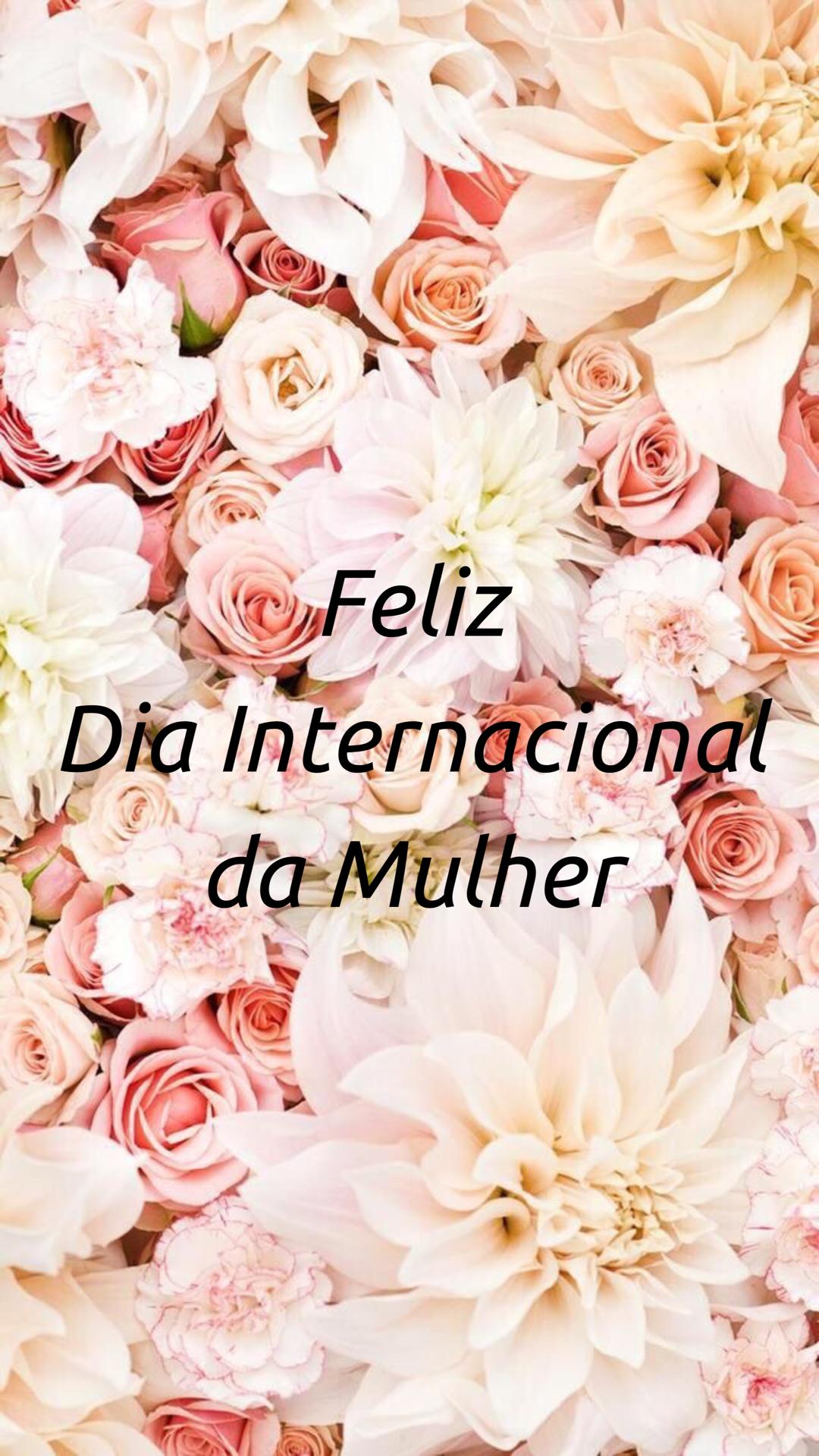 Feliz Dia Internacional Da Mulher Papel De Parede Do Iphone