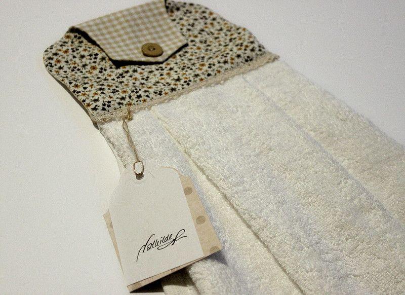 Handtücher - Küche Handtuch , Gäste Handtuch, Oven Towel - ein Designerstück von Nathilde bei DaWanda