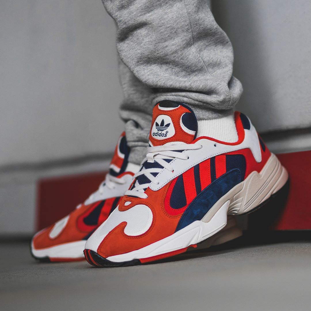 Adidas Yung 1 Orange Black Navy