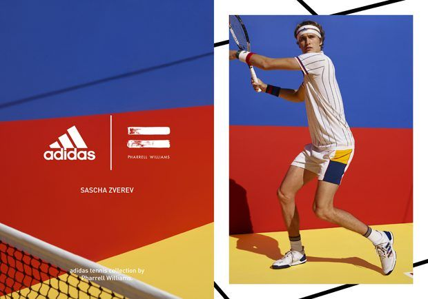 b7f3c5bca4689 Adidas Tennis Collection by Pharrell Williams Sports Brands