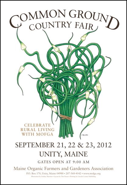 Common Ground Country Fair in nearby Unity, Maine - September 21, 22 & 23.  www.mofga.org