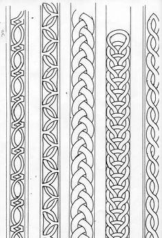 Celtic Band Pattern Recherche Google Tatoos Arm Band