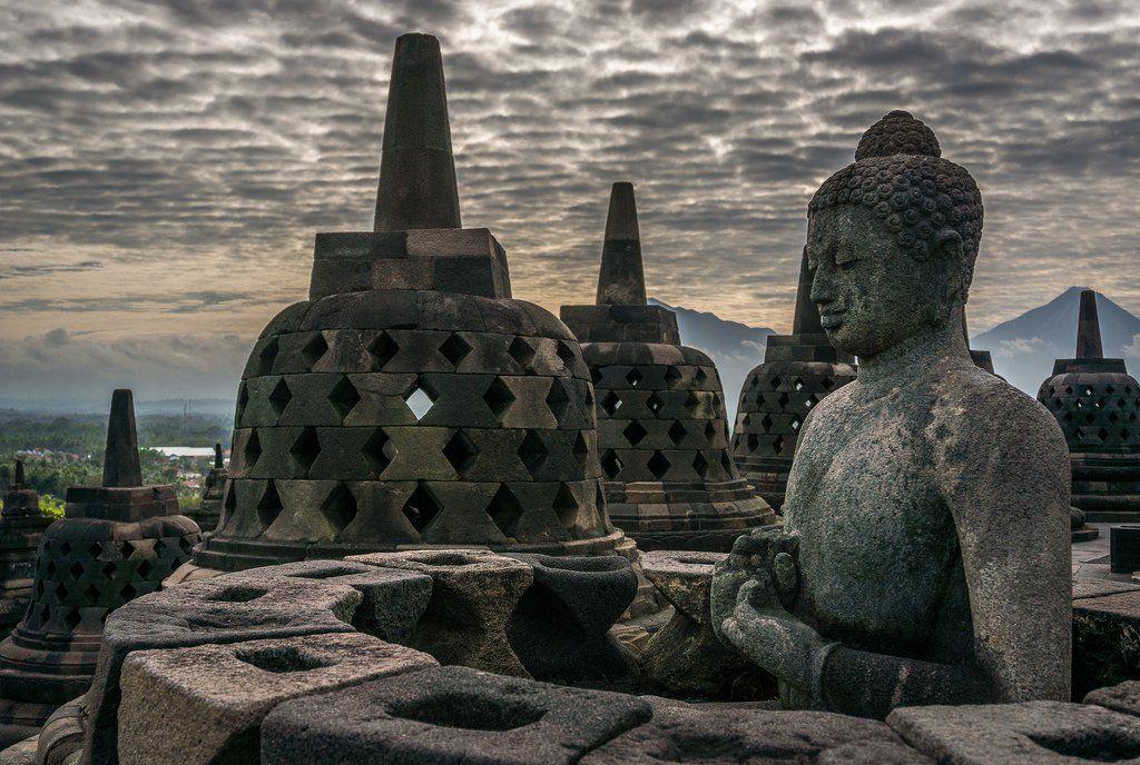 The Unique Beauty Of Borobudur Temple Borobudur temple