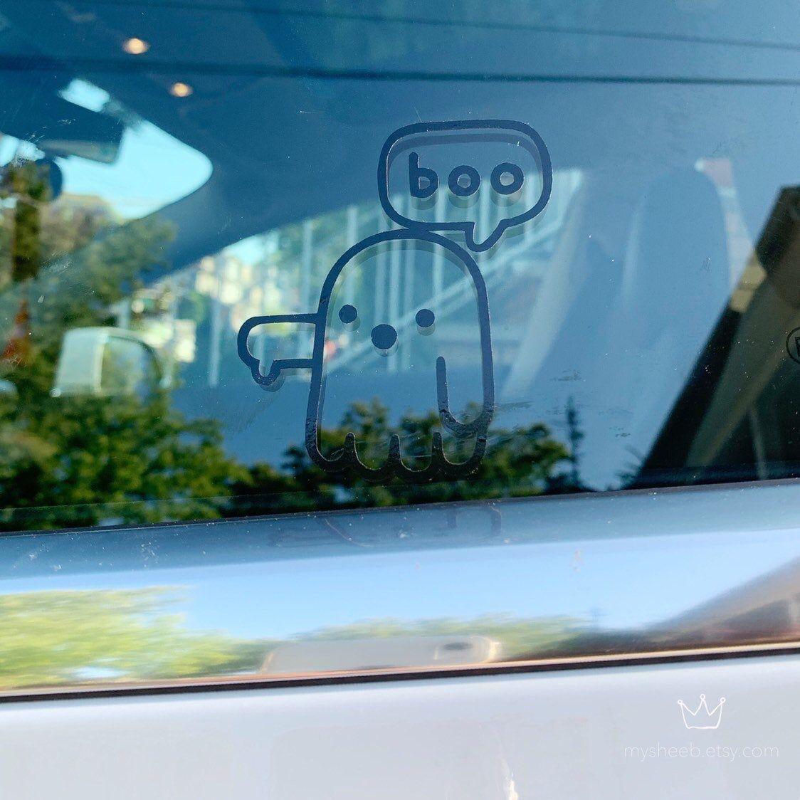 Women Ghost Car Window Sticker Miki Ycsticker Com Car Window Stickers Car Car Window [ 1200 x 1200 Pixel ]