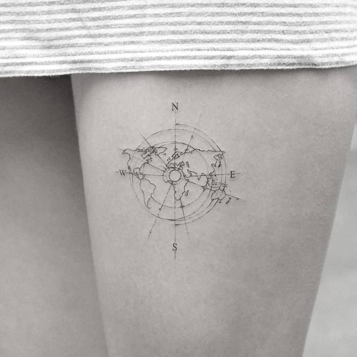 Photo of 35 Best World Map Tattoo Ideas For Travel Lovers – TattooBloq