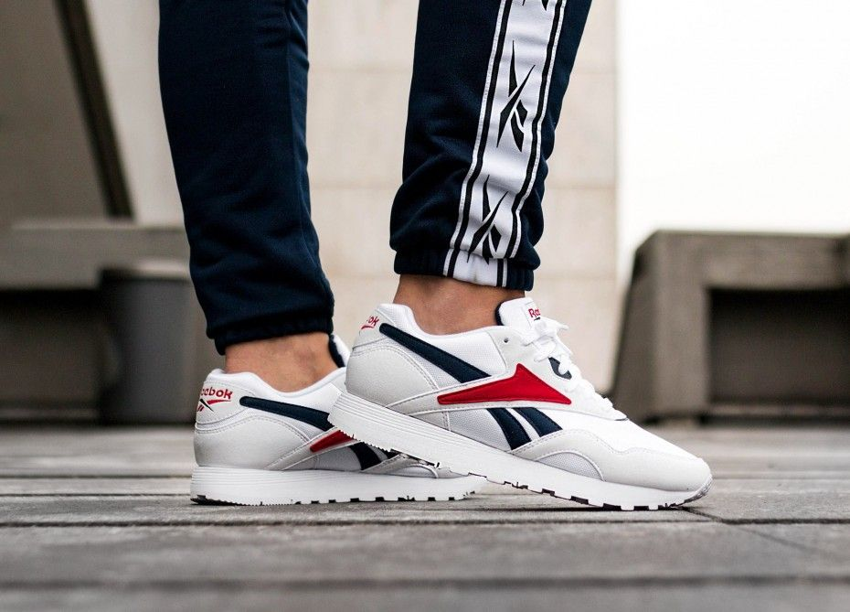 abc2150979b Reebok Rapide OG SU (White   Collegiate Navy   Excellent Red ...