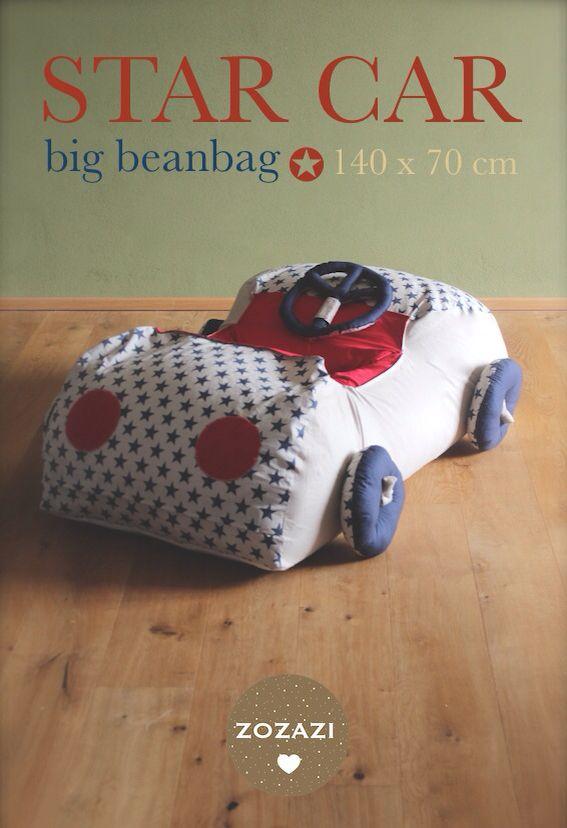 sitzsack f r kinder auto n hen h keln basteln pinterest kinder kinder autos und. Black Bedroom Furniture Sets. Home Design Ideas
