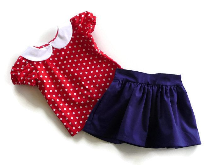 2 Year Old Girls Clothes Toddler Skirt And Top Girls Skirt And