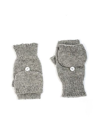 Flip Top Mittens or Gloves Knitting Pattern for Sock Yarn. | Maybe ...