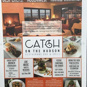 Catch On The Hudson American New 16 Front St Haverstraw Ny Restaurant Reviews Phone Number Yel Restaurant Bar And Grill Ny Restaurants Restaurant