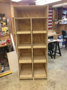 DIY Freestanding Pantry with Pullout Drawers - Wilker Do's