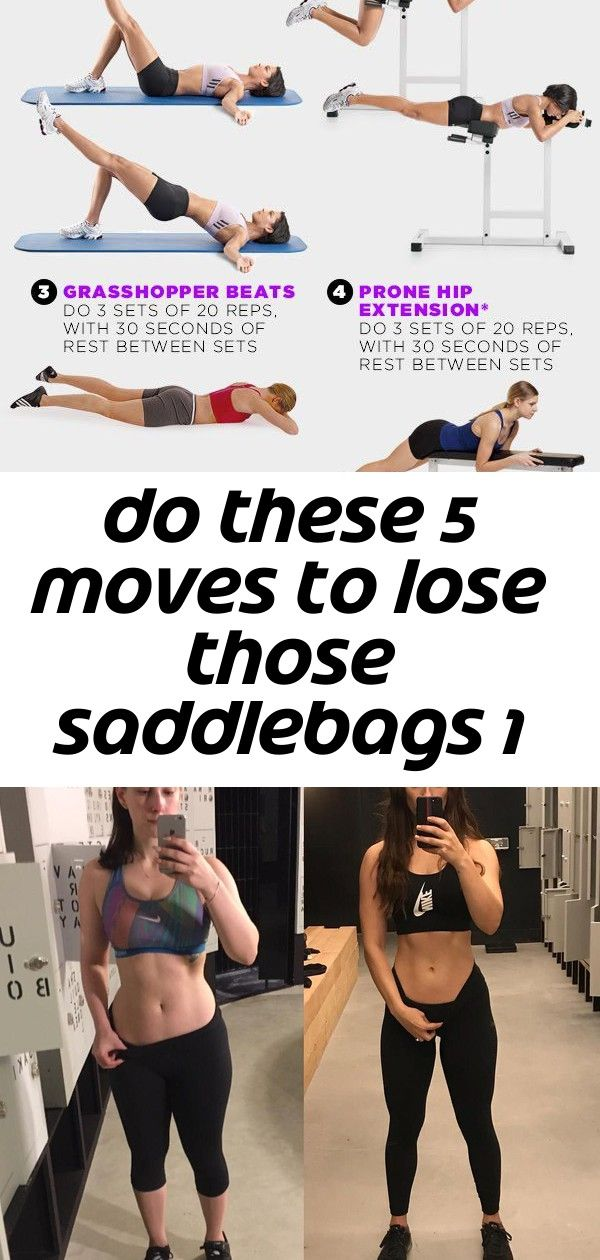 Do these 5 moves to lose those saddlebags 1