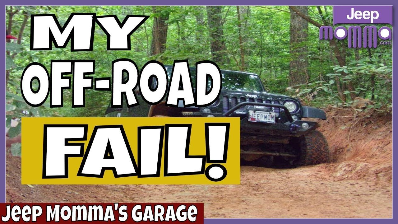 My Jeep Off Roading Fail In The Slick Wet Clay On The Uwharrie Ohv Trails Ohv Trails Offroad Jeep Trails