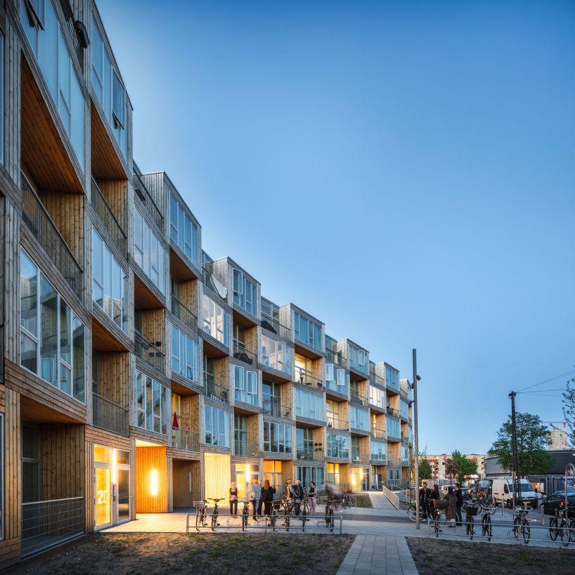 BIG Completes Low Income Housing Development In Copenhagen