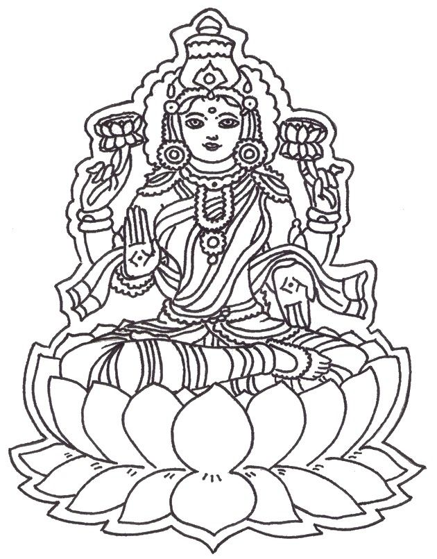 find this pin and more on adult coloring page india hindu god 5