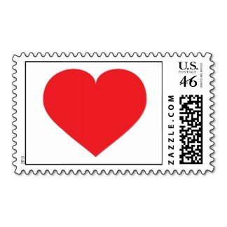 Red heart postage stamp.  Wedding postage stamp.  Valentine's day postage stamp. Option to add personalized text, change background color.  #heartwarestore  => http://www.zazzle.com/red_heart_stamps-172382122597407382?rf=238590879371532555&tc=pinBWRHredheartstamp