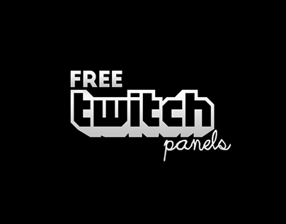 Free Twitch Panels (With images) Twitch app, Twitch tv