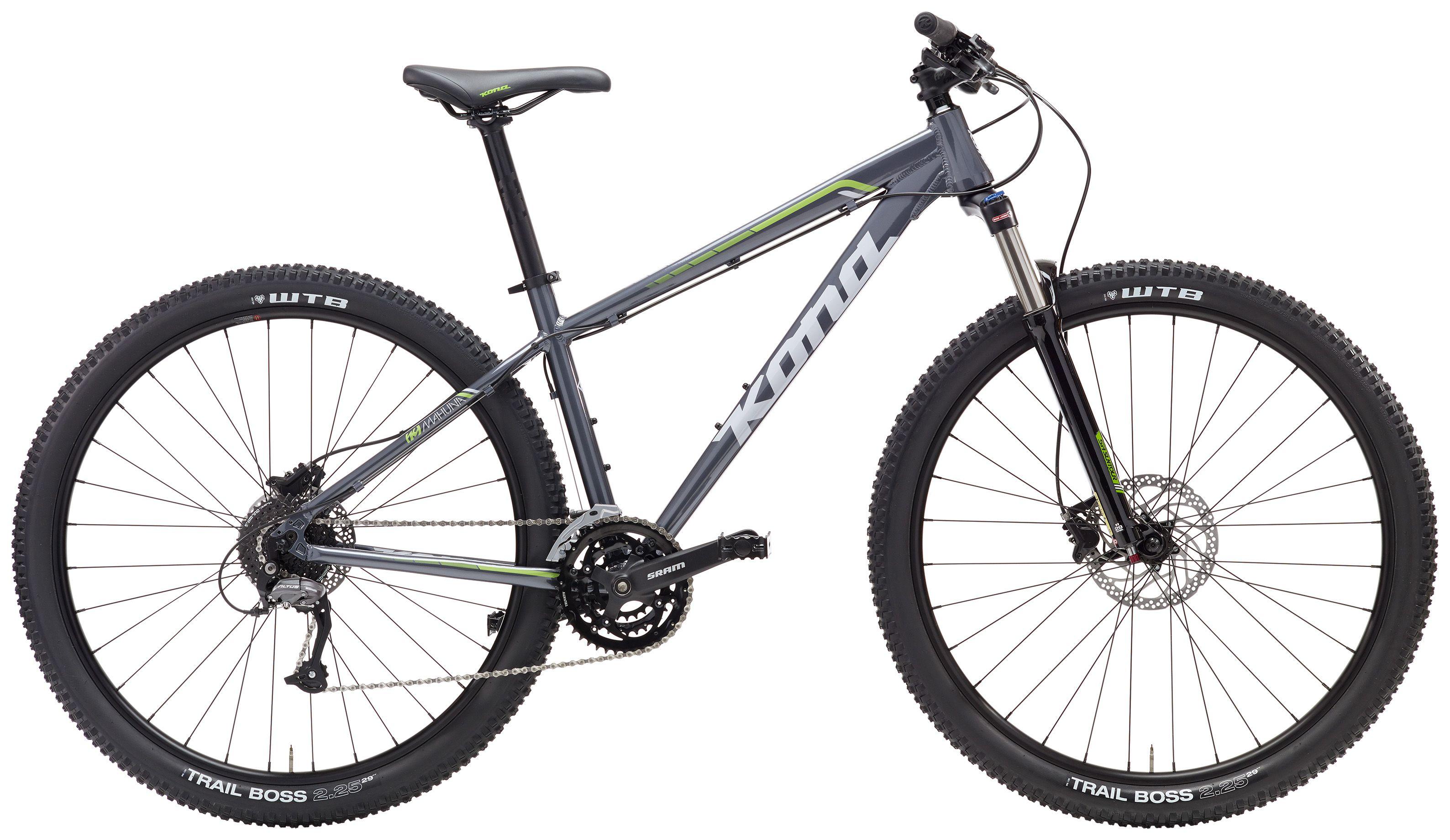 Bike Kona Mahuna 29 Cinza Grey Mountain Bike Mtb