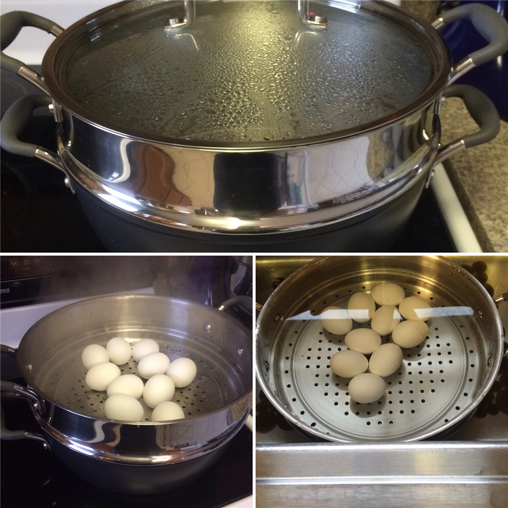 Steaming Your Eggs Bring Many Benefits. The Yoke Is Super