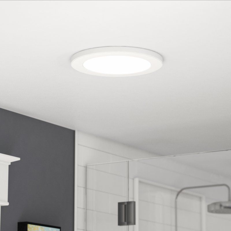 Colasanto 1 Light 13 Simple Circle Led Flush Mount Flush Mount Ceiling Lights Led Flush Mount Led Recessed Lighting