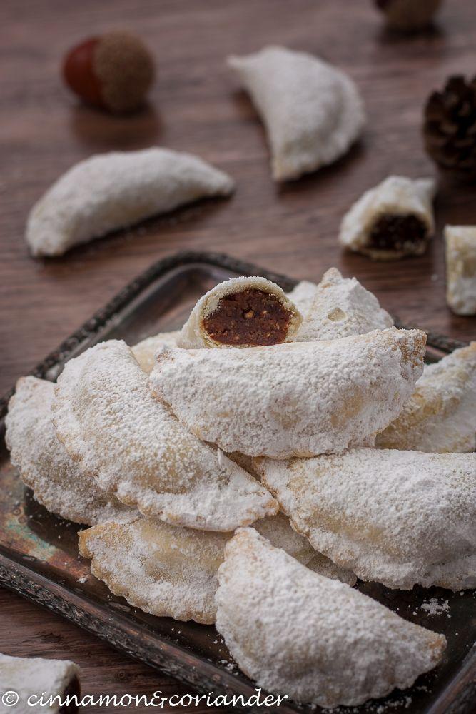 Italienische Weihnachtsplätzchen mit Maronenfüllung (Tortelli di Castagne) #christmascookies
