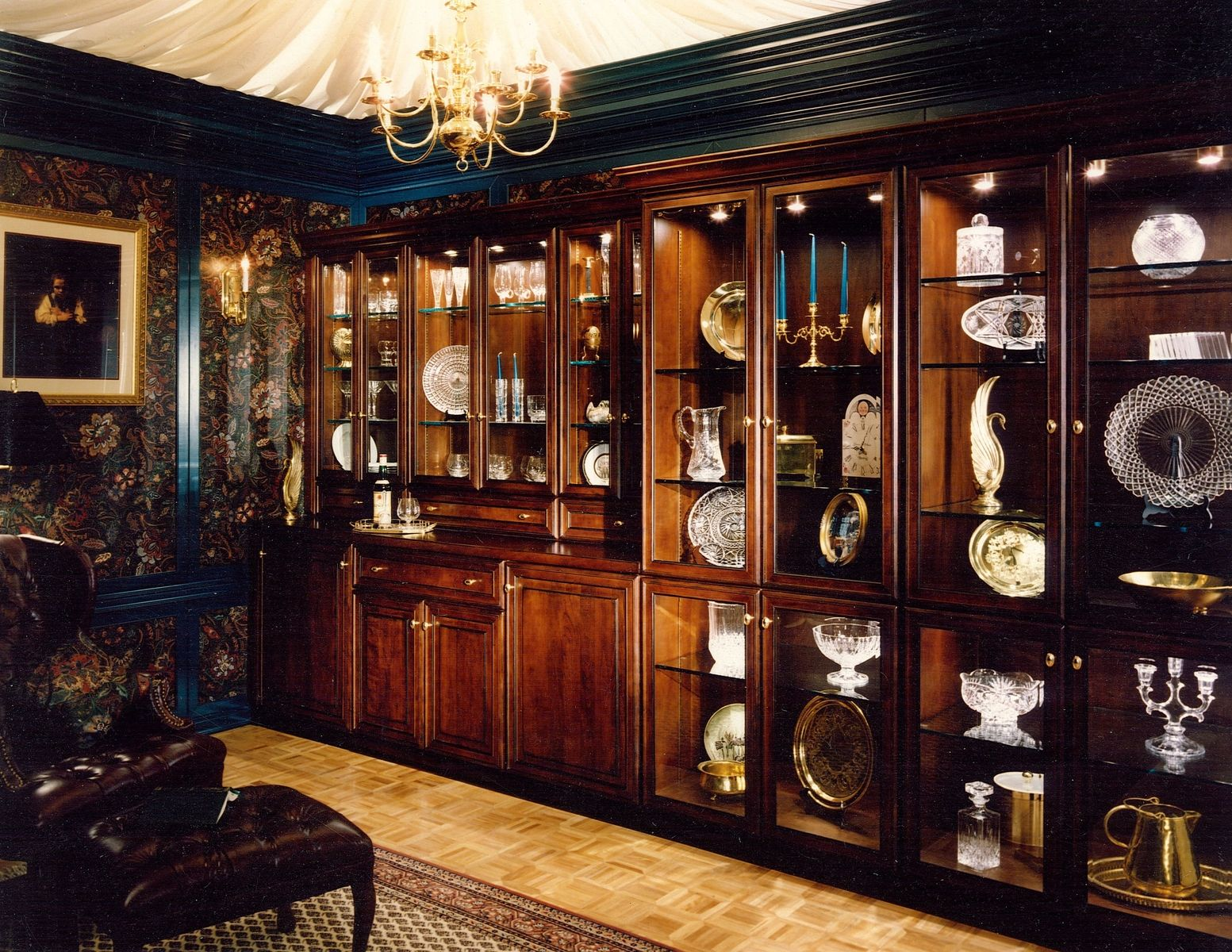 Built In Cabinetry For Home China Display Library