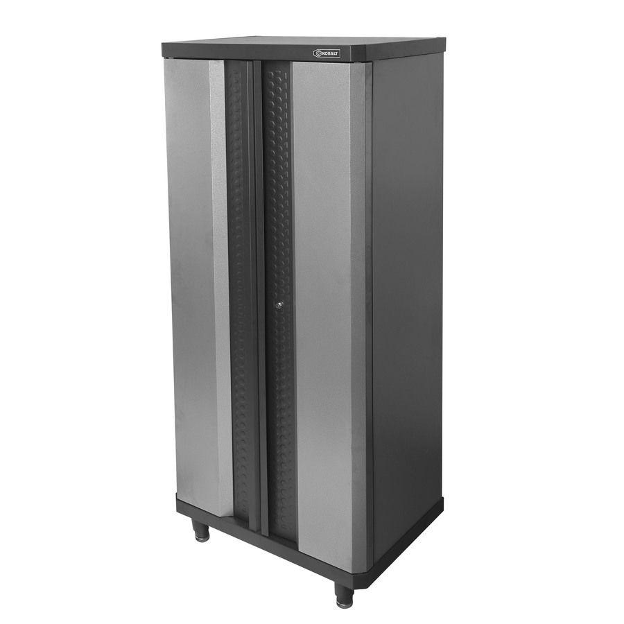 Kobalt 30in W x 7237in H x 205in D Steel Freestanding