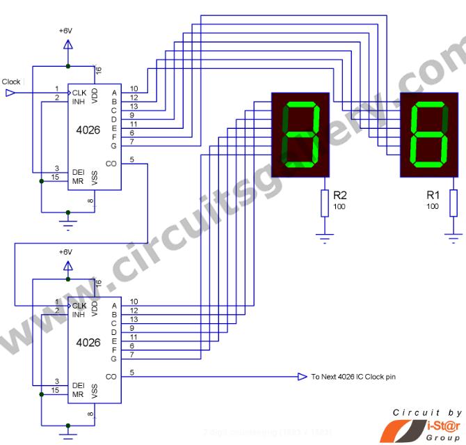 0 99 counter circuit diagram wiring diagram g9 Up Counter Circuit 0 99 7 segment display counter circuit electronicrepairhome basic switch circuit diagram 0 99 counter circuit diagram
