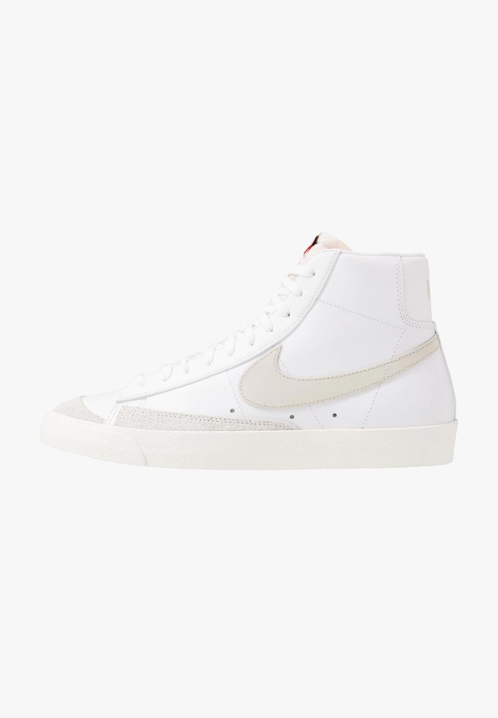 Nike Sportswear BLAZER MID '77 - Baskets montantes - white/light ...