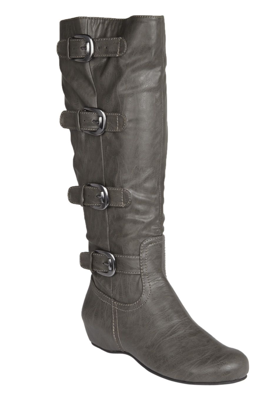 Wide Width Frankie Wide Calf Boot by Comfortview® | Wide Calf Boots from  Woman Within