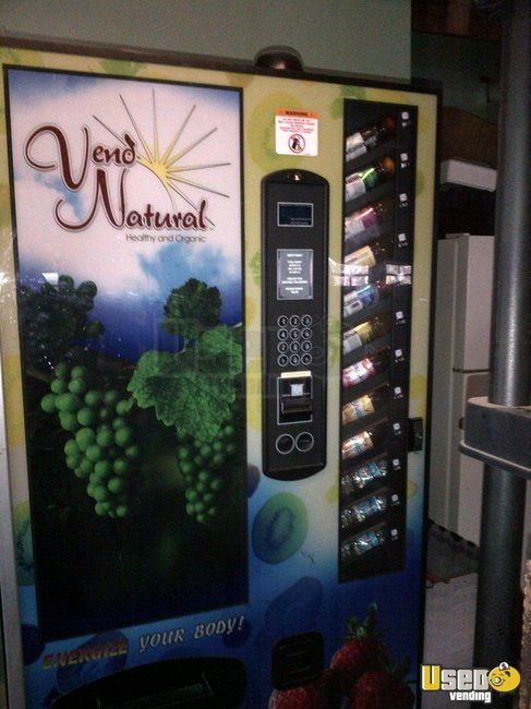 Used Wittern Full Size Drink Vending Machine For Sale In