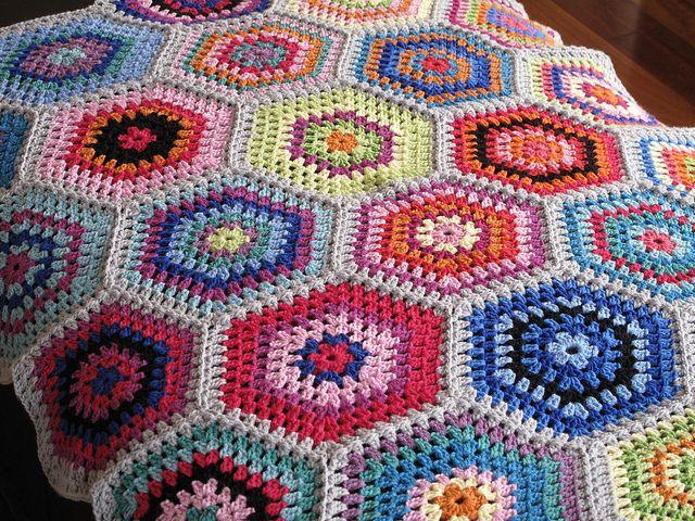 Wunderbar Kostenlos Gehäkelt Decke Afghanisch Muster Galerie - Schal ...