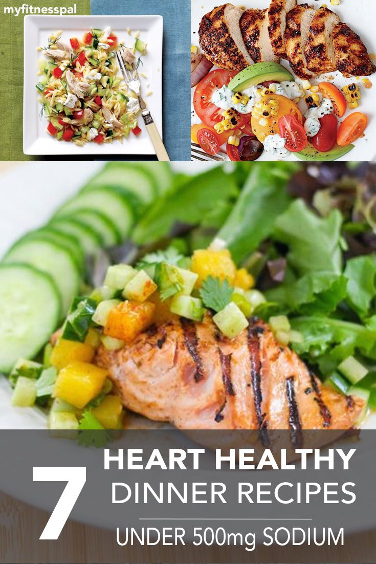 7 heart healthy dinner recipes pinterest low sodium diet and these 7 delicious recipes are perfect for those following a low sodium diet myfitnesspal forumfinder Gallery