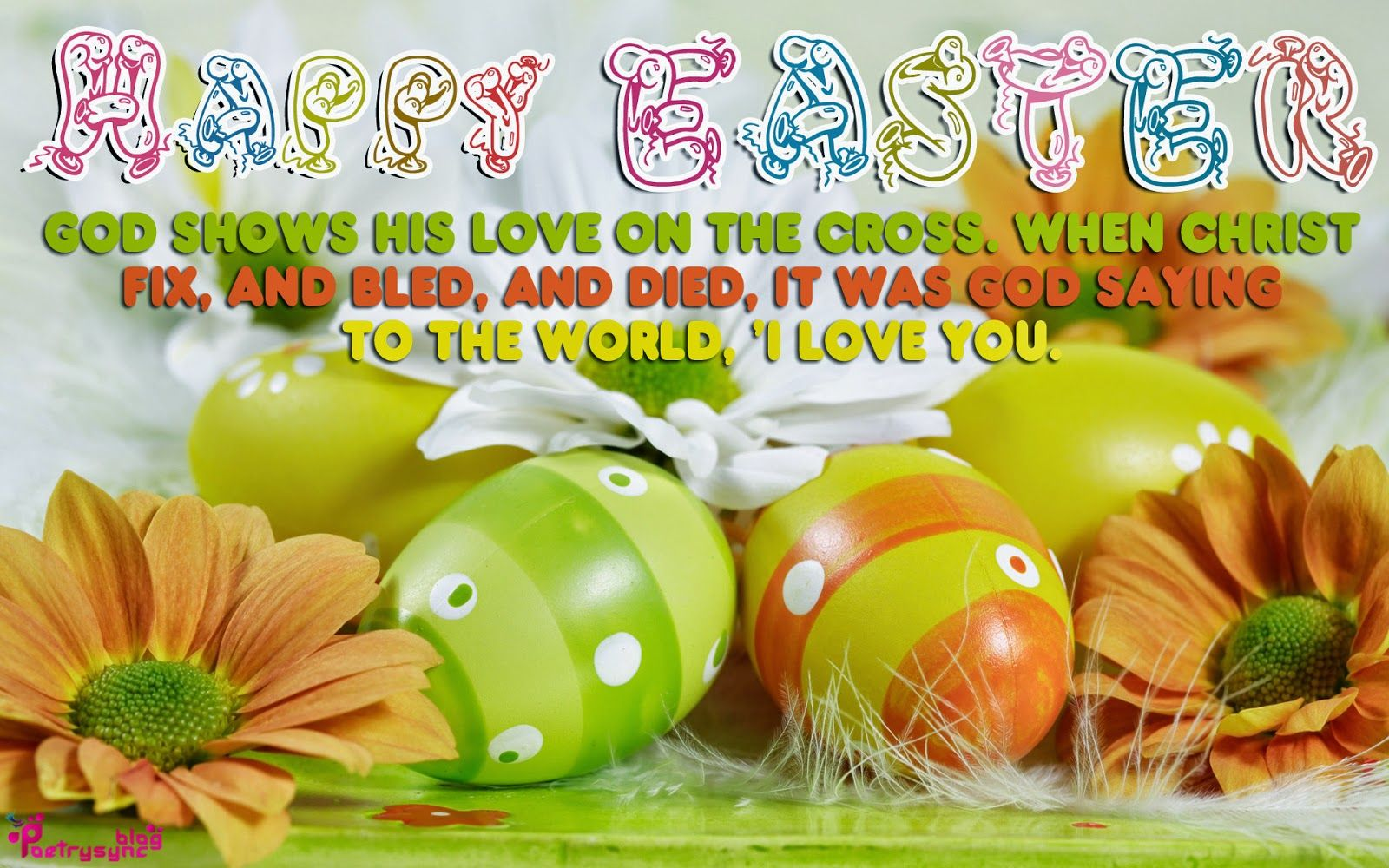 Happy easter sunday 2014 with wishes message easter pinterest easter greeting happy easter sunday 2014 with wishes message kristyandbryce Choice Image