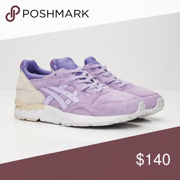 brand new 4f73d 20e55 Asics Gel-Lyte V Lavender Mens 5 Women s 7 This pair is brand new, never  been worn. Got it as a gift and didn t care for them. Asics Shoes Athletic  Shoes