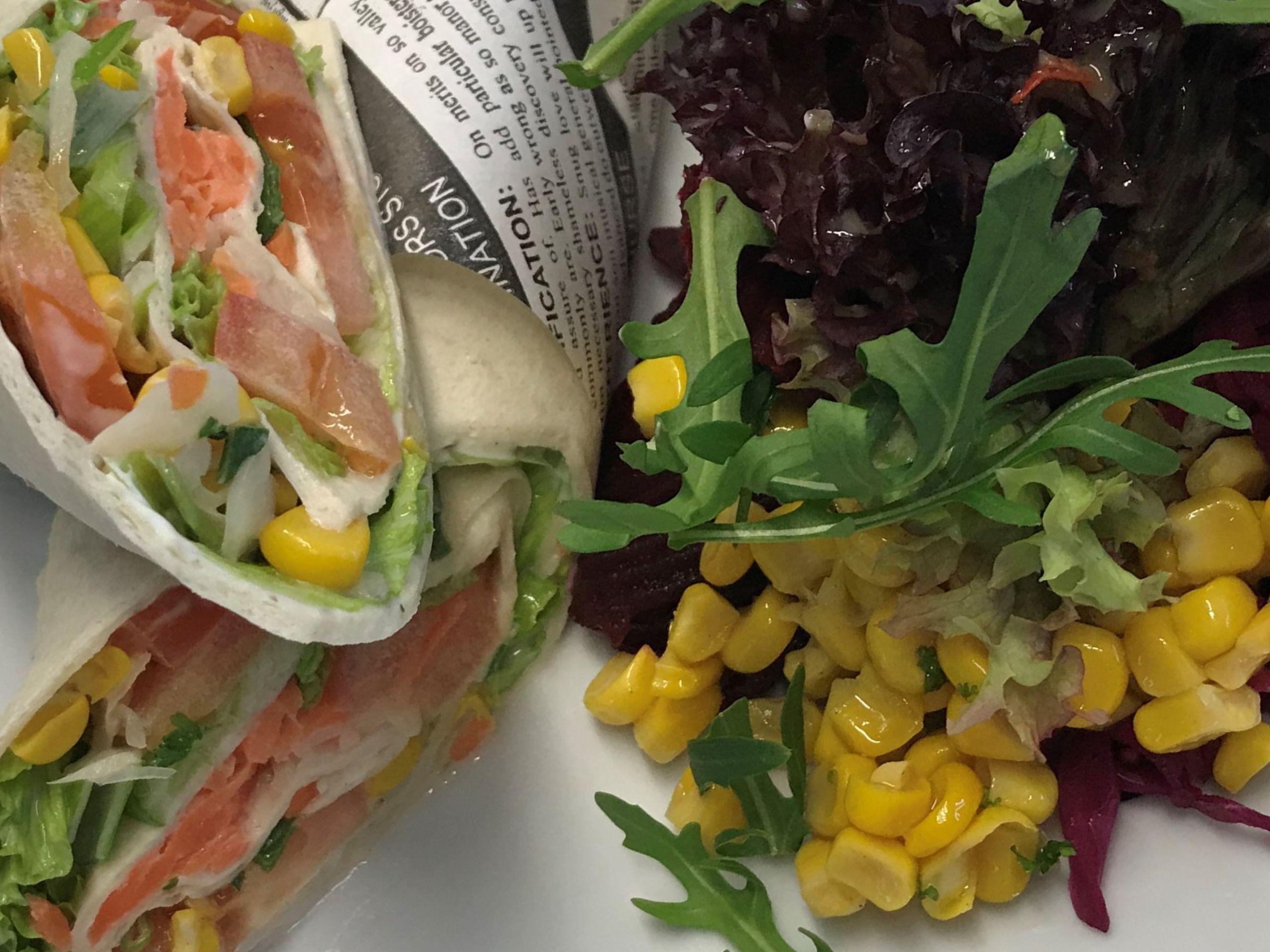 #Wrap it up | Deutsche küche, Lecker, Gastronomie