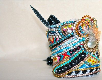 Doloris Petunia - Diamonds are a Girls Best Friend Cuff