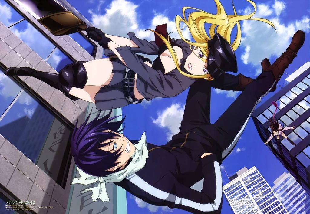 Anime World On Twitter Noragami Noragami Anime Yato