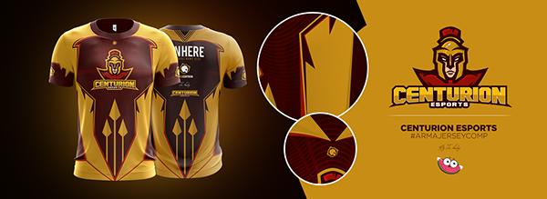 Download eSports Jersey Concepts on Behance | Camisetas de fútbol ...