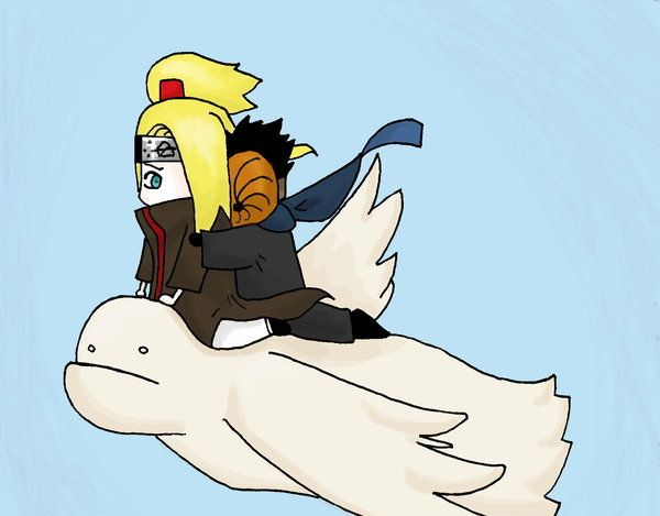 Tobi is scared of heights by Kowishii-chan on DeviantArt