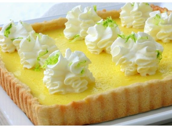 Tangy Lemon-Limoncello Pie