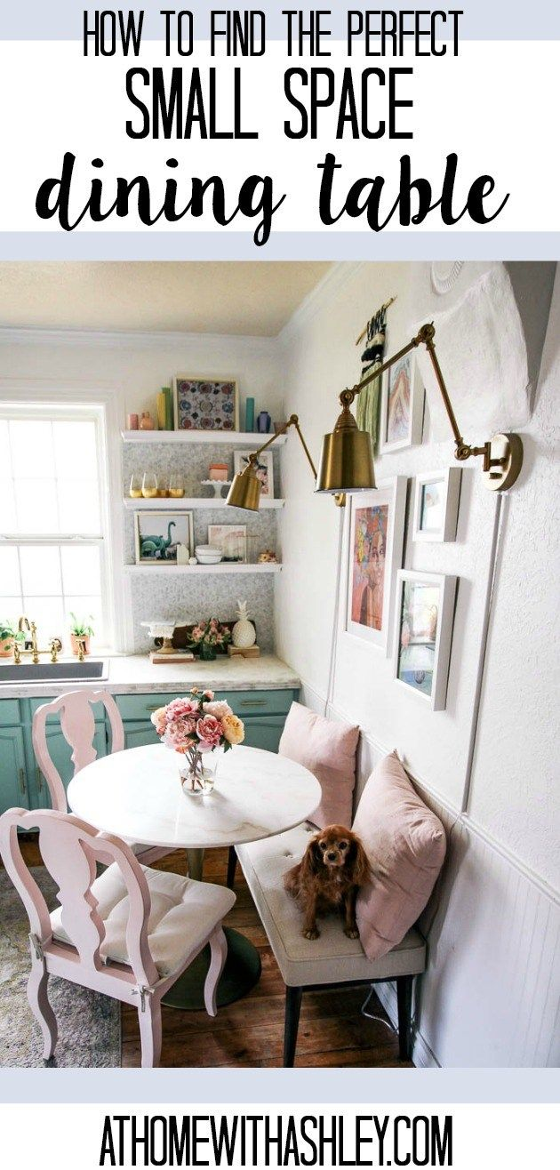 12 Brilliant Dining Table Ideas For Your Small Space Kitchen Table Settings Space Saving Kitchen Table Square Kitchen Tables