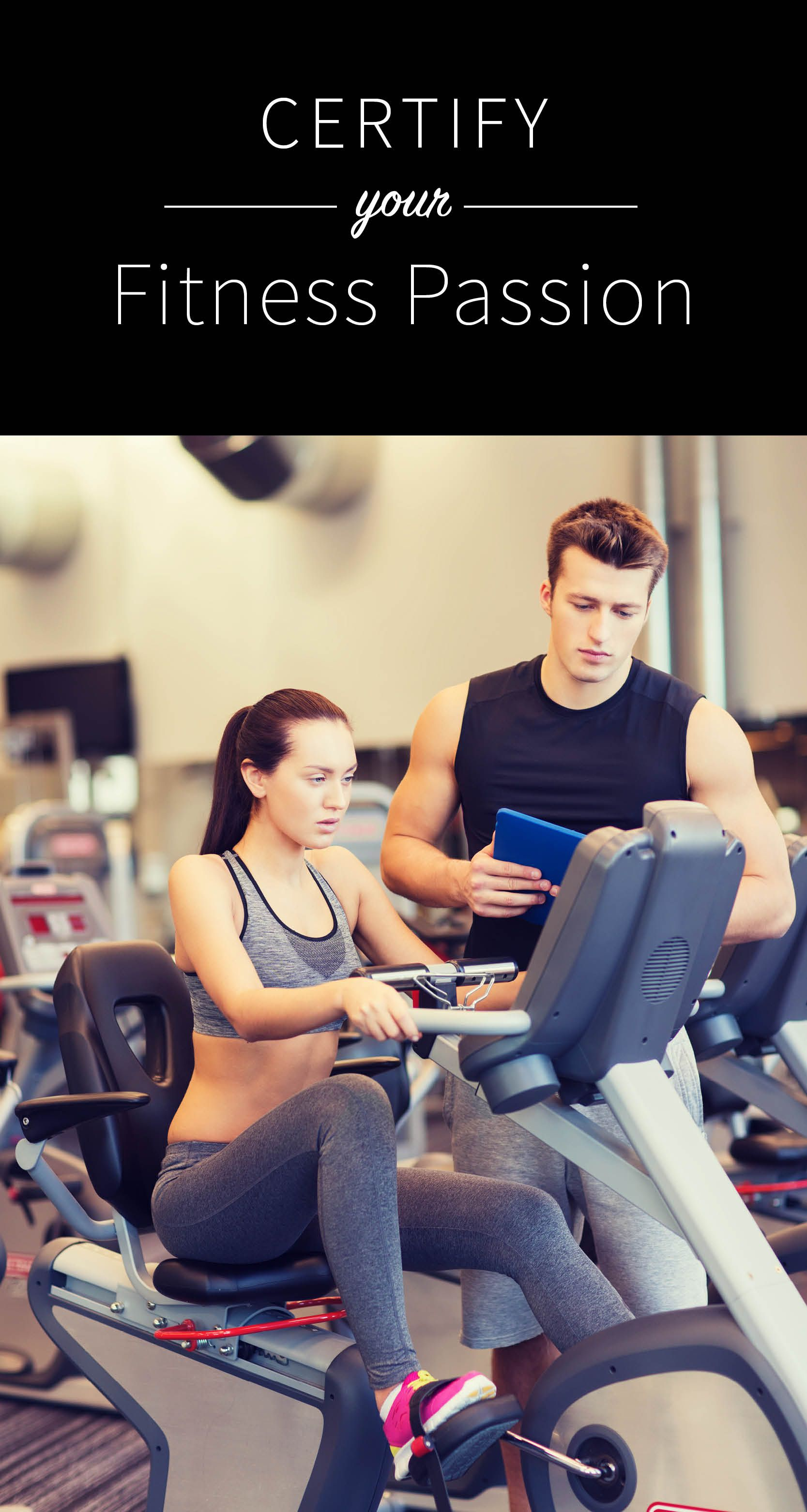 Turn The Gym Into Your Career Certify Your Fitness Passion Through