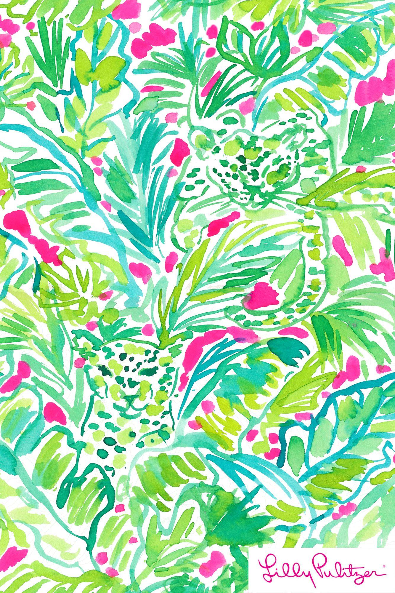 Palm Beach Jungle Lilly Pulitzer X Starbucks 2017 Lily